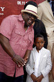 Cedric the Entertainer. At the Los Angeles Premiere of The Karate Kid held at the Mann Village Theater in Westwood, California, United States on June 7, 2010 Stock Image