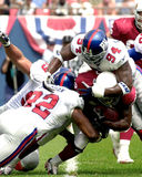 Cedric Jones. Defensive End Cedric Jones (94) of the New York Giants in game action againist the Arizona Cardinals. The New York Giants went on to defeat the royalty free stock photo