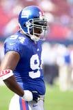 Cedric Jones, New York Giants. Defensive End Cedris Jones of the New York Giants Stock Images