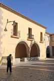 Cedrillas village,Teruel, Aragon,Spain Stock Photo