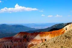 Cedrowe przerwa narodu parka Hoodoo formacje zdjęcia stock
