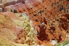 Cedrowe przerwa narodu parka Hoodoo formacje obrazy stock