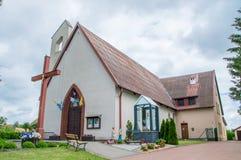 Cedry-Mann, Polen - 17. Juni 2017: Roman Catholic Church von Heiliger Geist Lizenzfreies Stockfoto