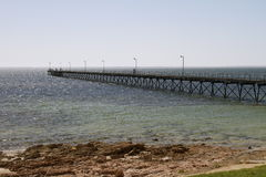 Ceduna jetty Stock Photo