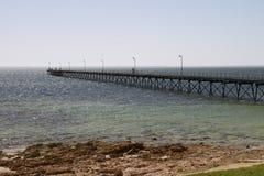 Ceduna jetty. In south australia Stock Photo