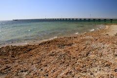 Ceduna jetty. In south australia Stock Images