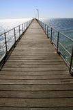 Ceduna jetty. In south australia Stock Photos
