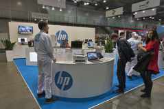 CEE 2016 exhibition of electronics in Kiev, Ukraine. Royalty Free Stock Images