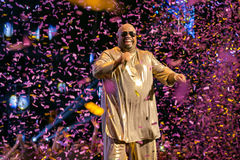 Cee Lo Green. Performing live at the MOBO awards, Leeds First Direct Arena, UK Royalty Free Stock Image