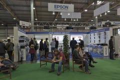 CEE 2016 wystawa elektronika w Kijów, Ukraina zdjęcia stock