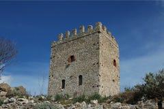 Cefalà diana del castello Fotografia Stock