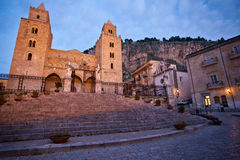 Cefalù Cathedral Royalty Free Stock Photography