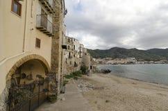Cefalù Waterfront Stock Photo