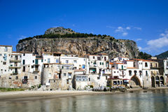 Cefalà ¹,巴勒莫-西西里岛 库存图片
