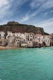 Cefalù coast royalty free stock photos