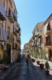 Cefalù in Sicily Stock Photography