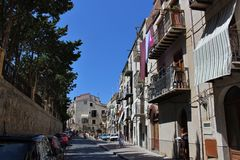 Cefalù in Sicily Royalty Free Stock Photos