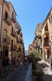 Cefalù in Sicily Stock Image