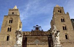Cefalu大教堂 免版税图库摄影