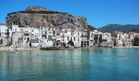 Cefalu,西西里岛 免版税库存图片