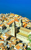 Cefalu, aerial view Stock Photography