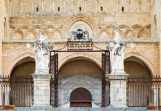 Cefalu cathedral Royalty Free Stock Image