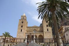 Cefalu cathedral Royalty Free Stock Photos