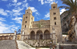 Cefalu cathedral Royalty Free Stock Photography
