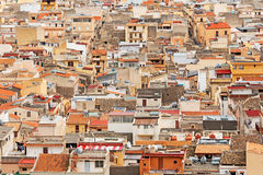 Cefalu a city on northern coast of Sicily Stock Photo