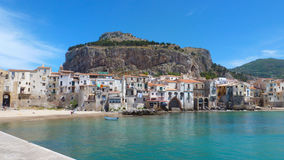 Cefalu city, Sicily, Italy Royalty Free Stock Photos