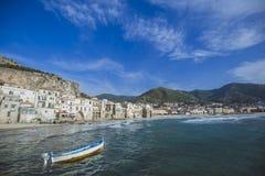 Cefalu en Sicile Photographie stock libre de droits