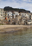Cefalu Harbour Royalty Free Stock Photo