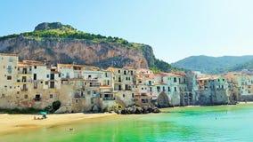 Cefalu hermoso, Sicilia Imágenes de archivo libres de regalías