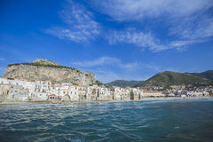 Cefalu i Sicily royaltyfria bilder