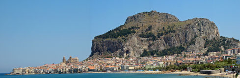 Cefalu (Italien) Stockfotos