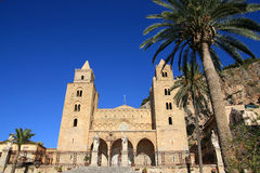 Cefalu norman cathedral Stock Image