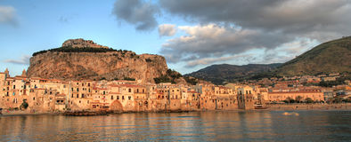 Cefalu panorama Royalty Free Stock Photography