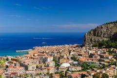 Cefalu, Sicília Fotografia de Stock