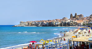 Cefalu, Sicile Photos stock