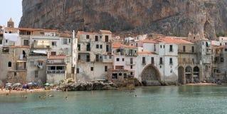 Cefalu, Sicile Photo libre de droits