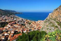 Cefalu/Sicilië Stock Foto