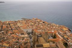 Cefalu, Sicily, Obraz Royalty Free