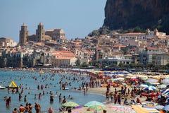 Cefalu, Sicily Stock Images