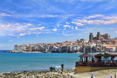 Cefalu, Sicily Stock Photo