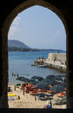Cefalu Sicily, Italien Royaltyfria Foton