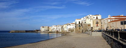 Cefalu - sicily Stock Images