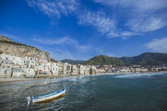 Cefalu in Sicily Royalty Free Stock Photography