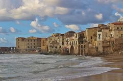 Cefalu in Sicily Stock Photos