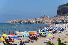 Cefalu, Sicily Stock Photography