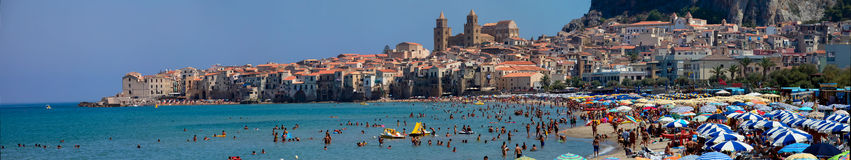 Cefalu, Sicily Royalty Free Stock Images
